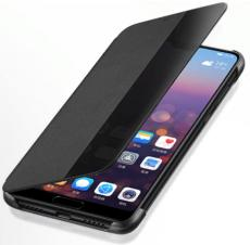 Huawei_P20_Clear_View_Standing_Cover_black
